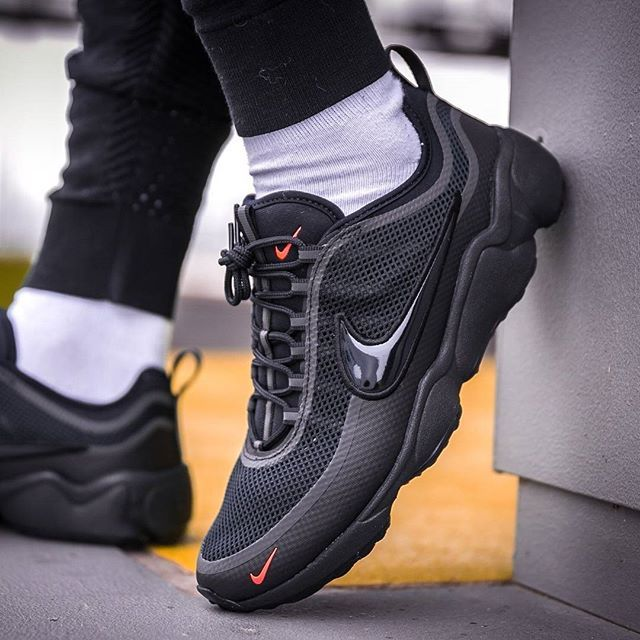 ac43f8409de762 Its all about that mini Swoosh! The Don is back in black and a whole  lighter thanks to an Ultra upgrade available now from  slktn  sneakerfreaker   snkrfrkr ...