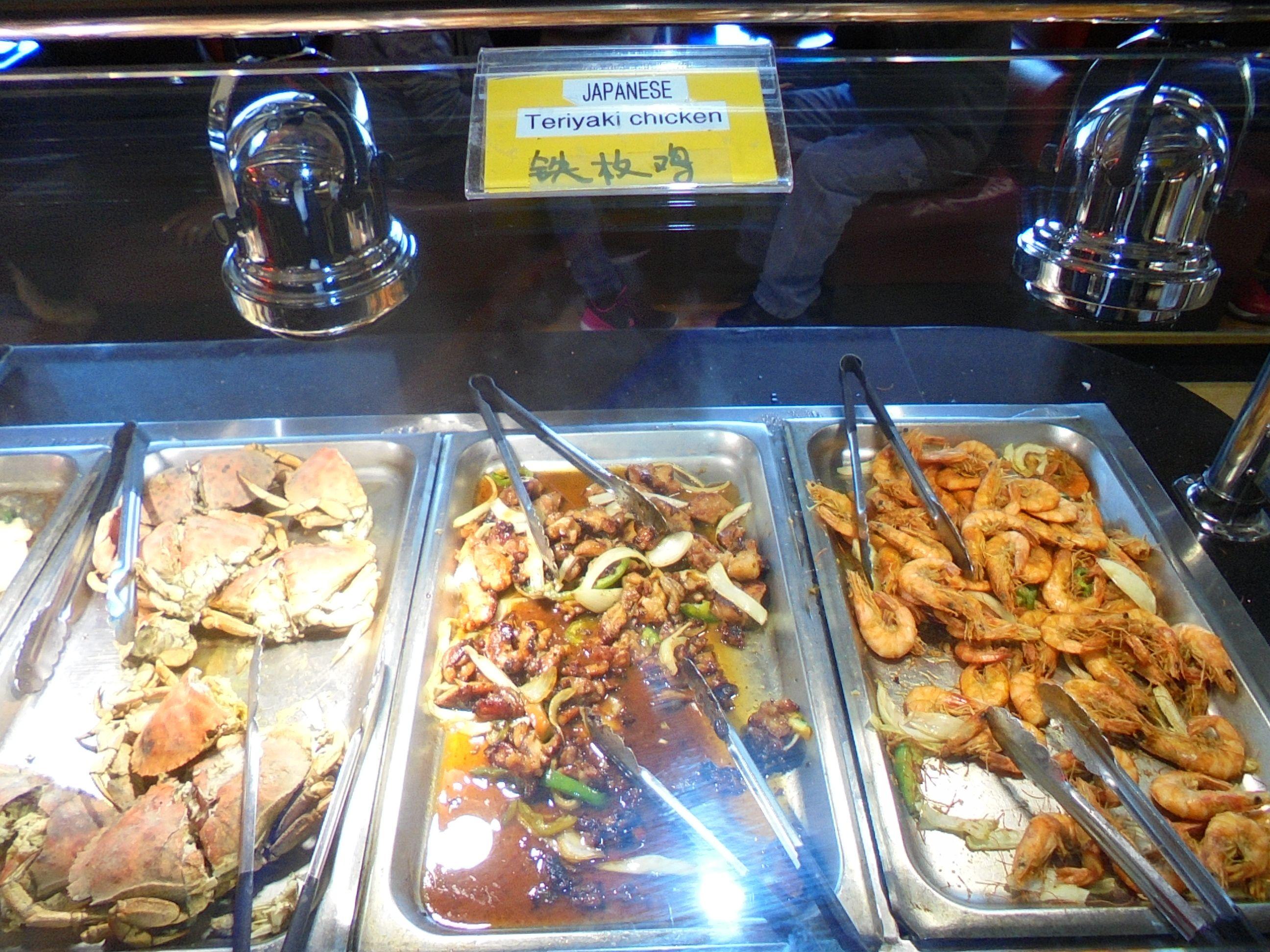 #Chicken, #Shrimp & #delicious #Crab as a #food #combination