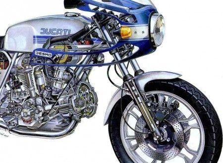 Ducati 900ss Cutaway