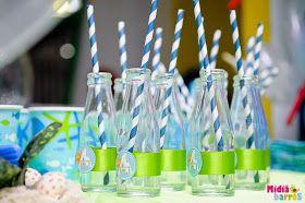 E hoje vai ser uma festa!: Idéias para Festa: Fundo do Mar II