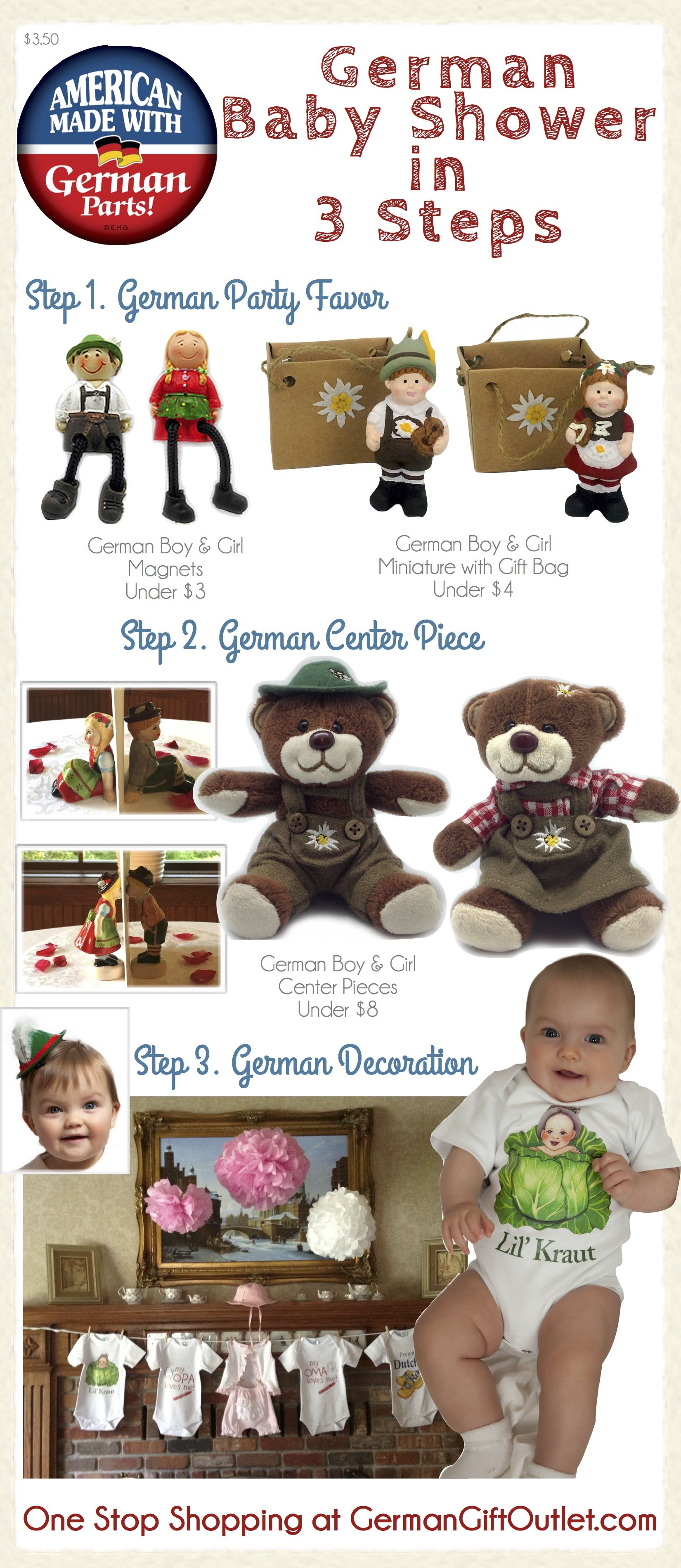 German Baby Shower Ideas Diy Baby Shower German Babyshowerideas