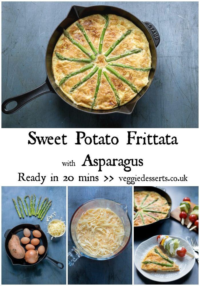 Enjoy This Tasty Sweet Potato Frittata For Breakfast Brunch Lunch Or Dinner It S Full Of Nouri Sweet Potato Frittata Vegetarian Recipes Easy Potato Frittata