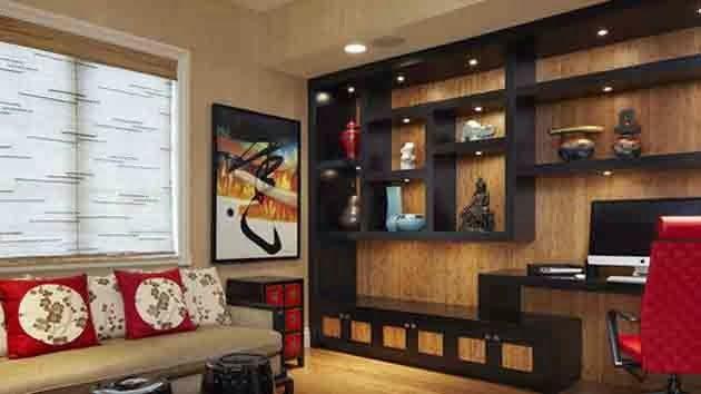Déco intérieur asiatique | Deco salon asiatique : Moderne décoration ...