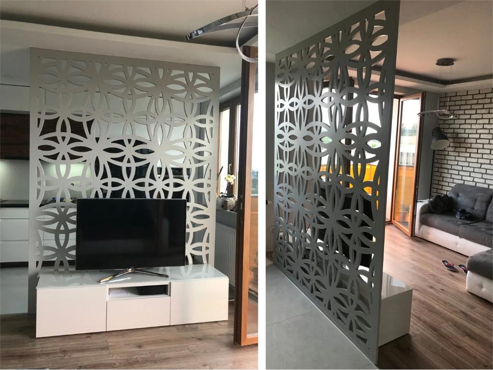 Bardzo Dobra Azurowa Scianka Dzialowa Ox68 Renaissance Home Room Divider Home Decor