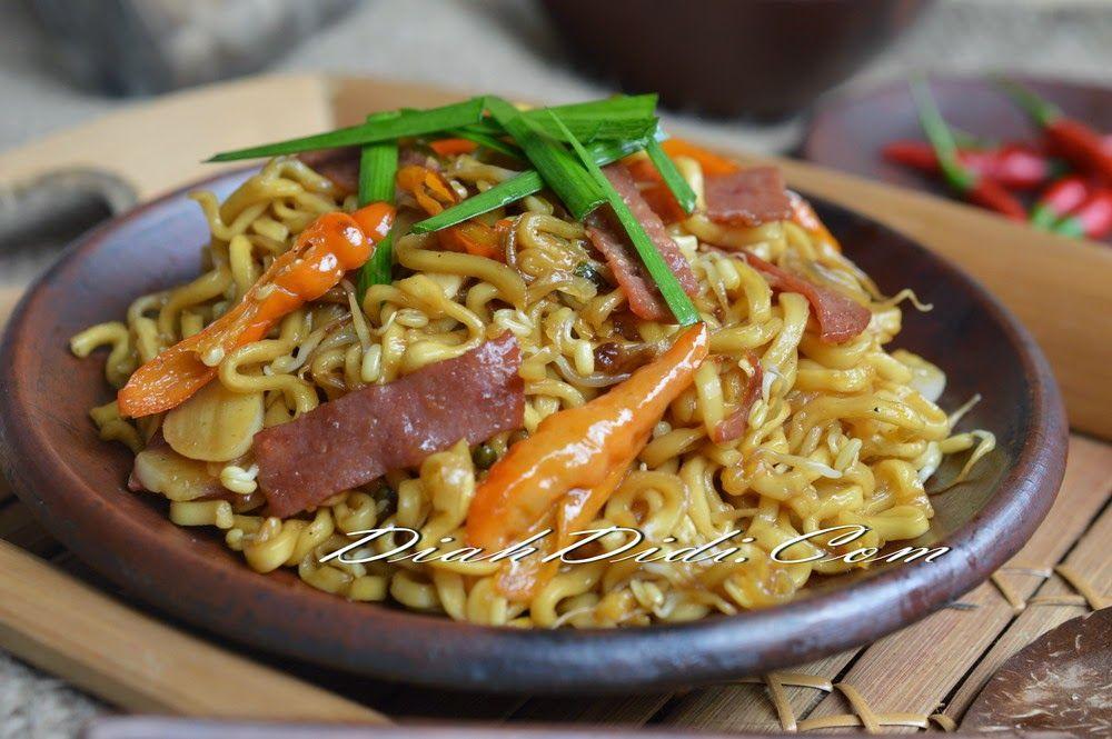 Oseng Mie Pedas Resep Masakan Makan Malam Masakan