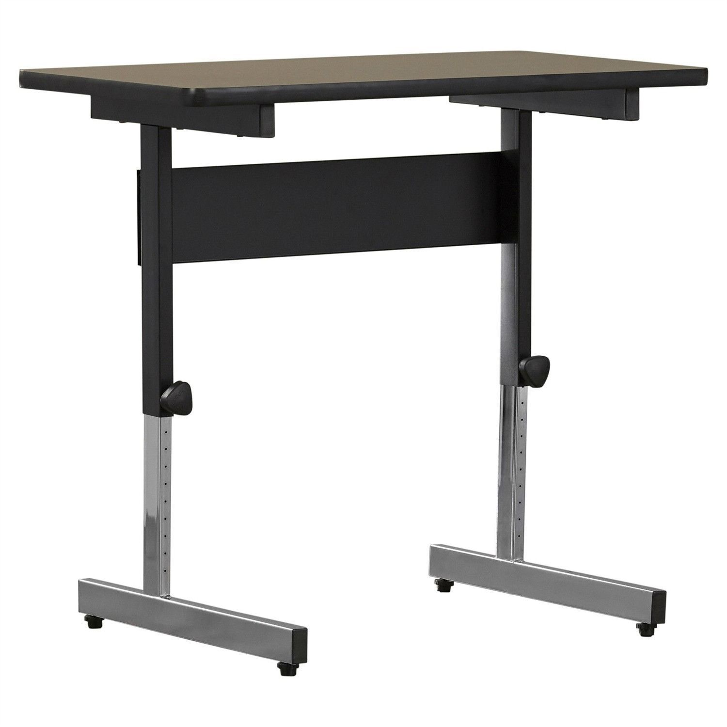 stand up desk adjustable height sitting or standing writing tablet computer laptop table