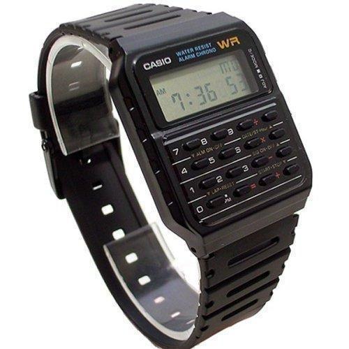 c295a8f3d07 CASIO CA 53W 1ZDR Orologio Vintage Digitale Calcolatrice Back to The Future