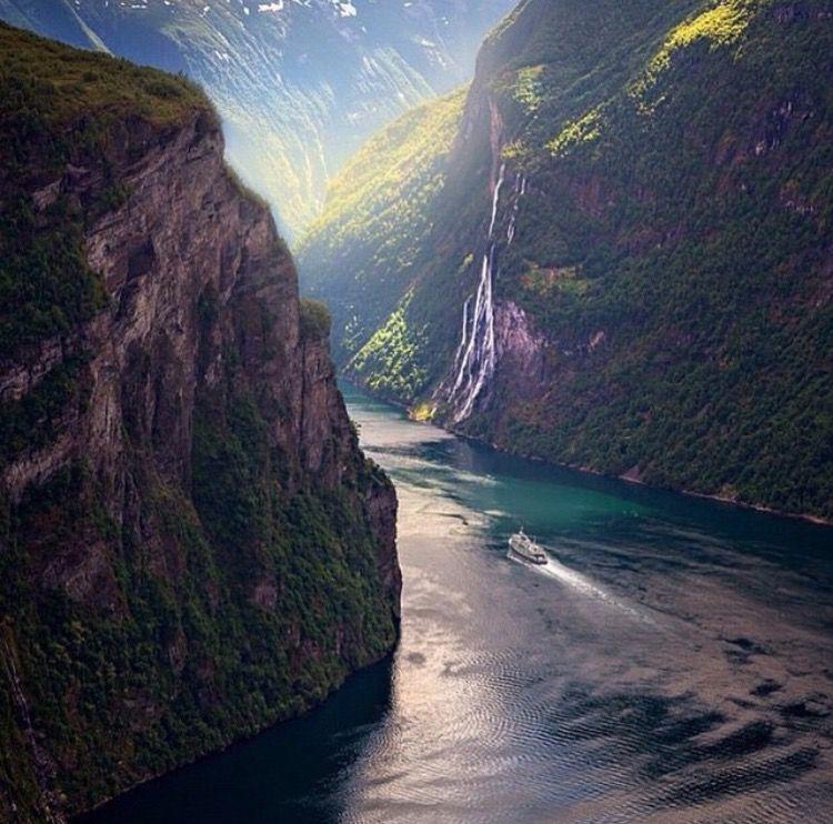 Geirangerfjord in Norway