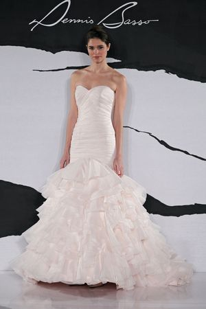 Dennis Basso Wedding Dresses Dennis Basso Pink Dress I Saw On