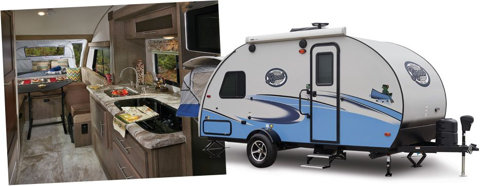 R Pod Rp 172 Travel Trailers By Forest River Rv Happy Camper