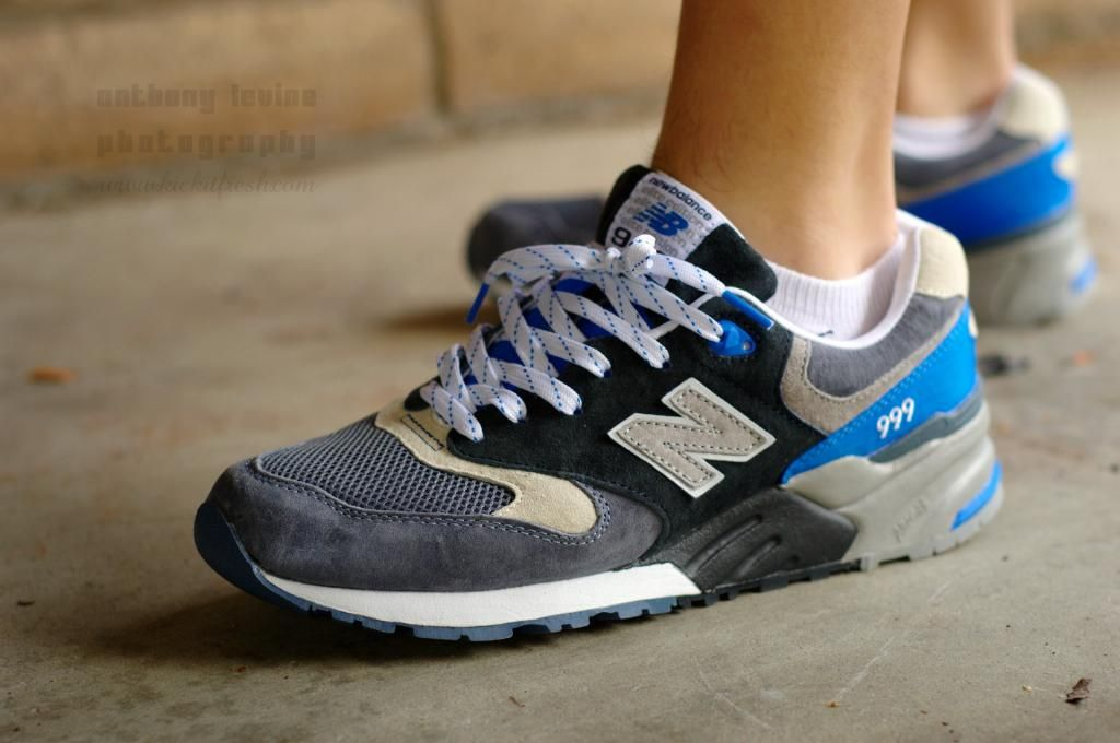 New Balance ML999 Elite Edition - Grey/Blue