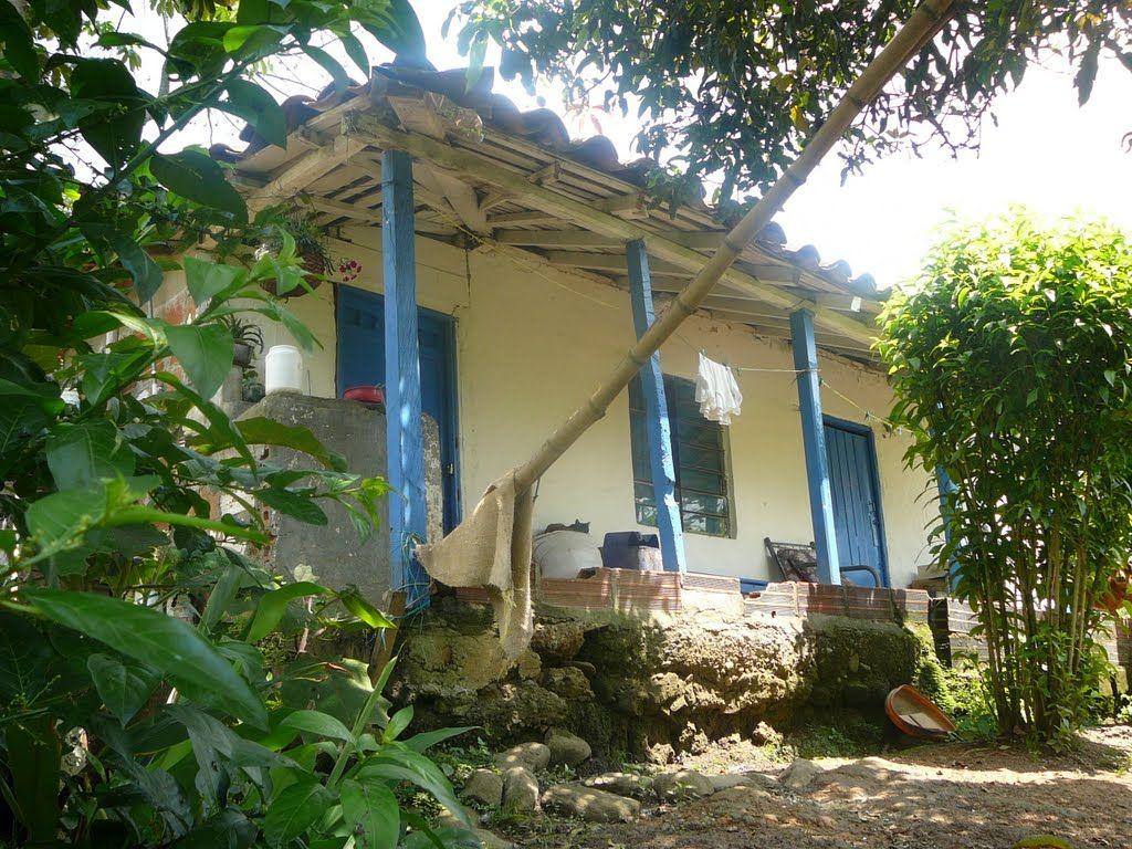 Casa campesina casas coloniales pinterest photos for Casa colombia