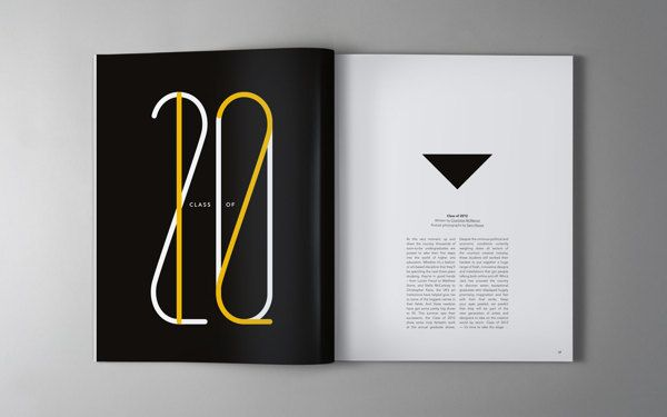 54 fantastic and modern magazine design layouts to inspire Modern design magazine