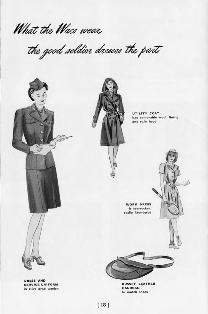A book of facts about the WAC : Women's Army Corps