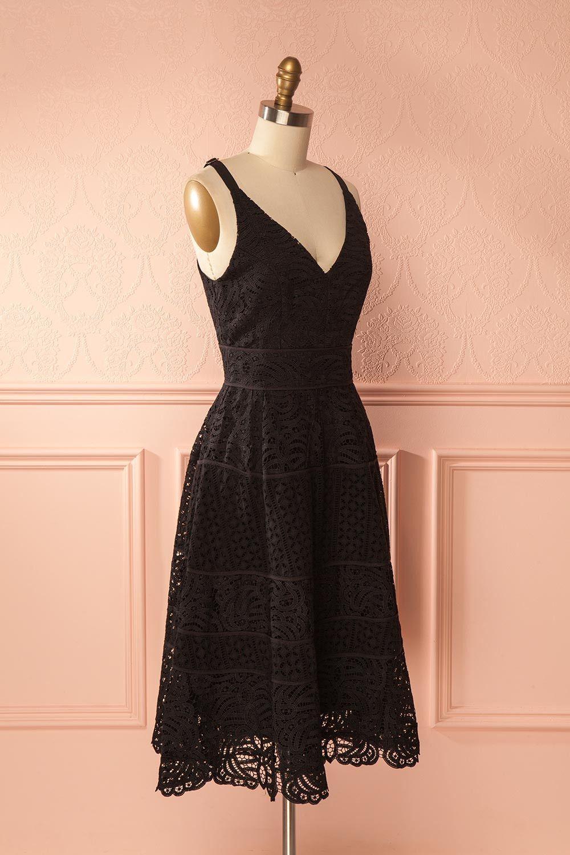 Feryel summer dresses black laces and boutique