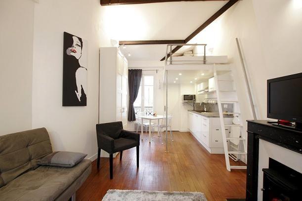 Mooie Studio Mezzanine | Klein appartement | Pinterest