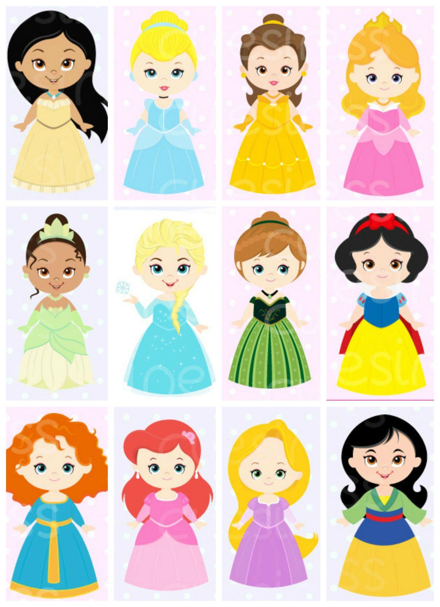 Princesses | Disney princess images, Disney princess ...