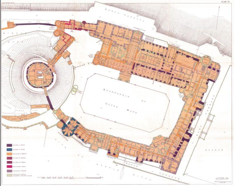 Windsor Castle Ground Floor Castle Floor Plan Castle Plans Castle Layout