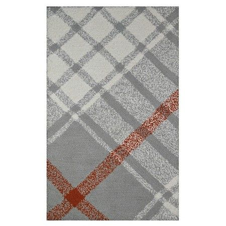 Threshold™™ Gray Plaid Kitchen Rug  Target❤ My Fave Place New Kitchen Mats Target Decorating Inspiration