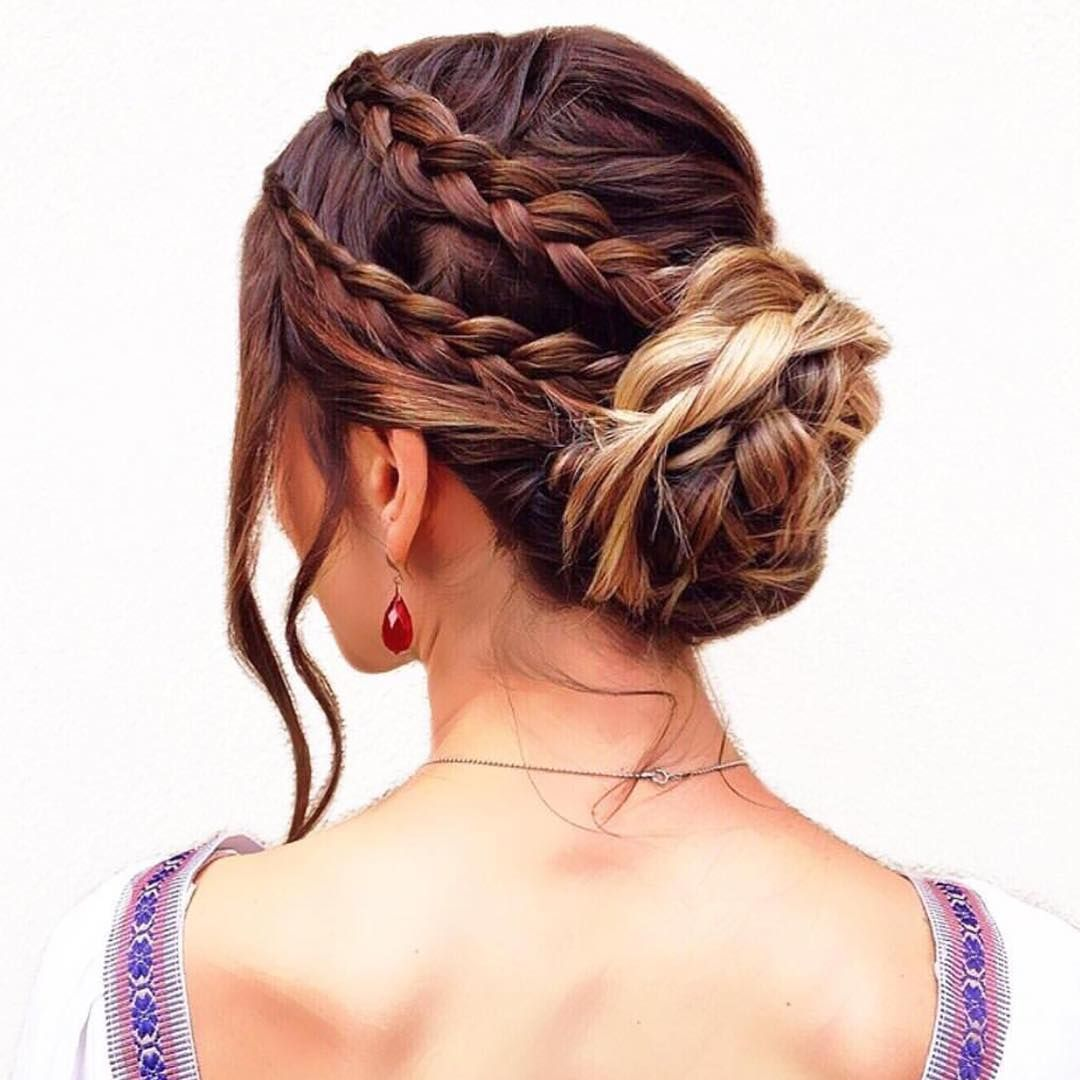 37 glamorous updos for bridesmaids 2018 | hair/makeup