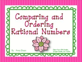 1000+ images about Rational numbers on Pinterest | Cut and paste ...