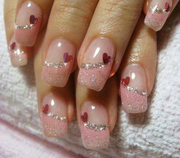 Possible Sweetest Day Nails
