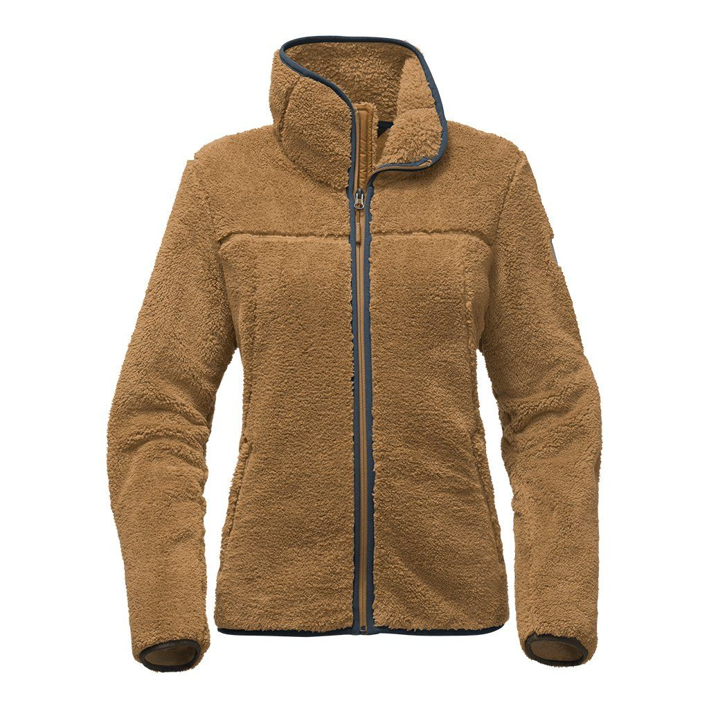 764f956bcd6 Women s Campshire Full Zip Sherpa Fleece in Biscuit Tan by The North ...