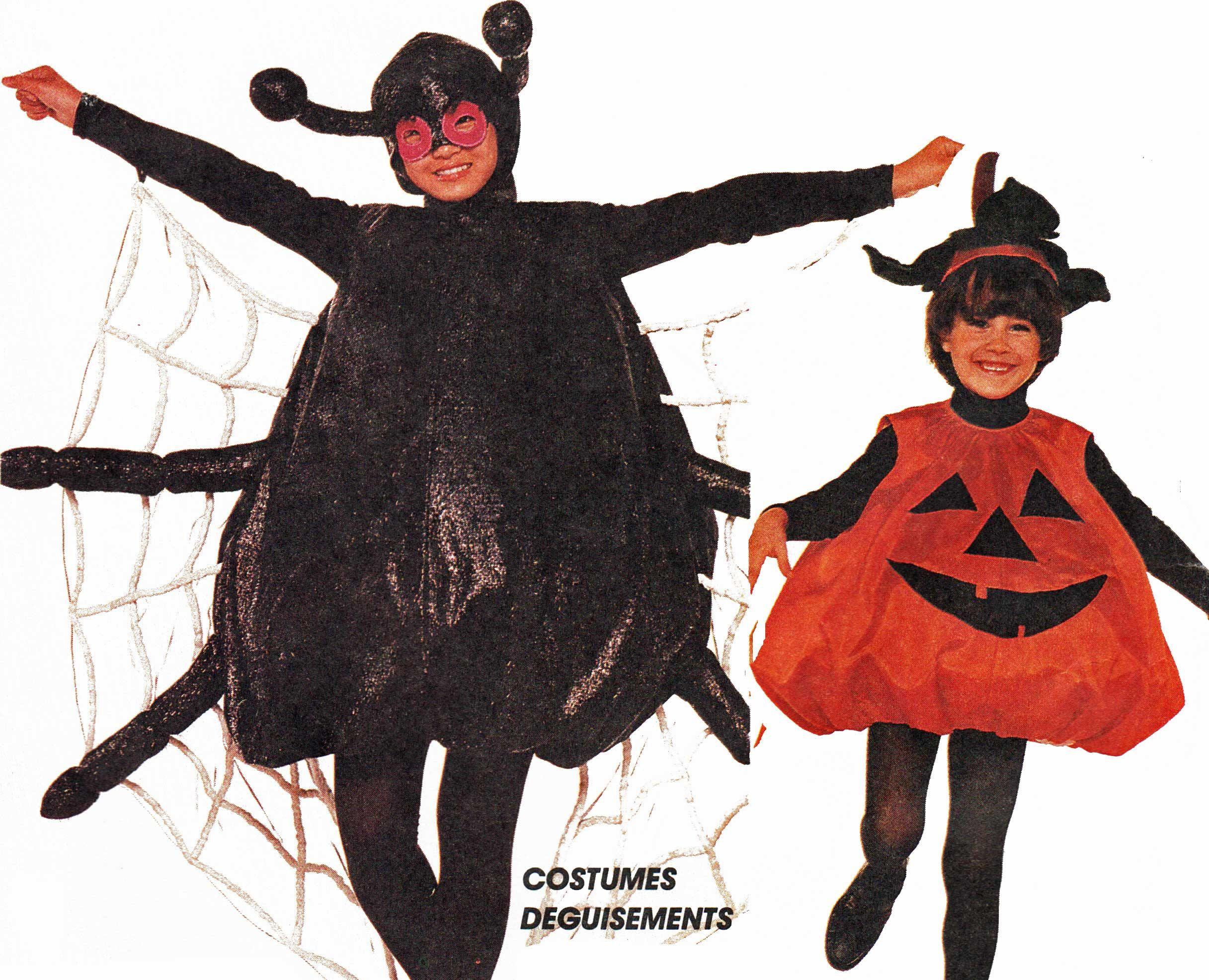 Toddler Boys Girls Spider Costume Pattern Pumpkin Halloween ...
