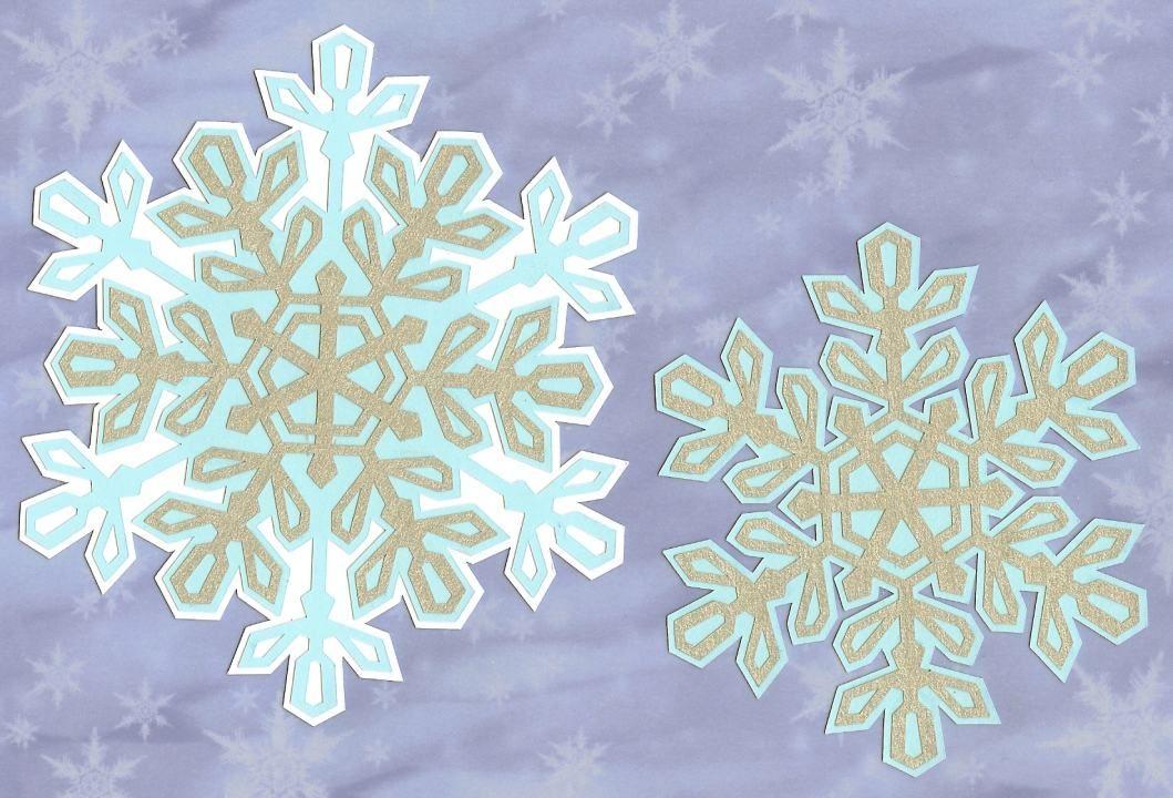 152+ Free Layered Snowflake Svg – SVG Bundles