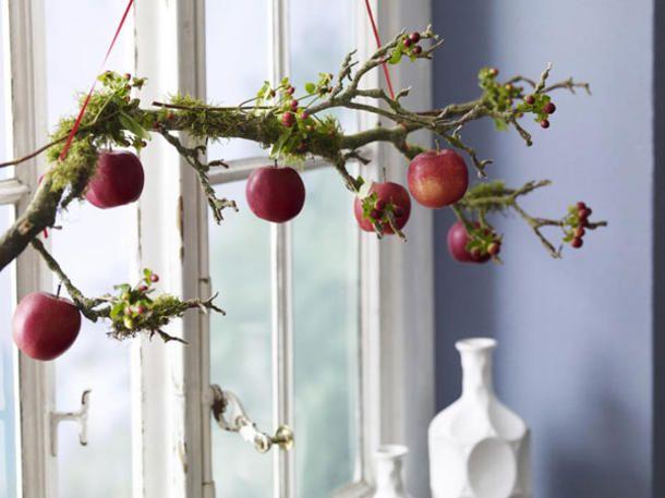 DIY: Frische Fensterdeko selber basteln | Fensterdeko, Basteln und ...
