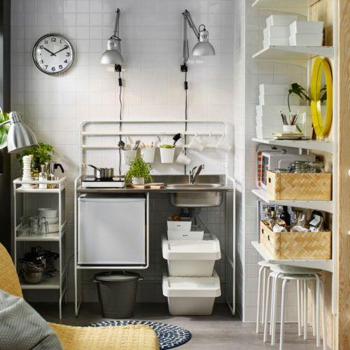 Mini cucina economica Sunnersta Ikea Monolocale | Tiny | Pinterest ...