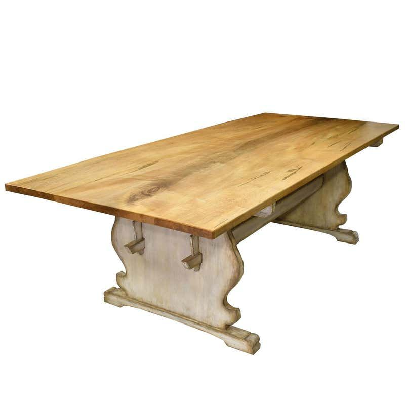 Bonnin Ashley Custom Made 8 Gustavian Rowena Dining Table With Painted Base Dining Table Dining Room Table Marble Country Dining Tables