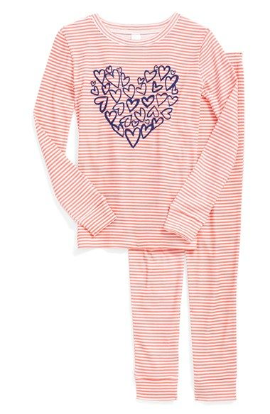 7b82d7984 Tucker + Tate Two-Piece Fitted Pajamas (Toddler Girls