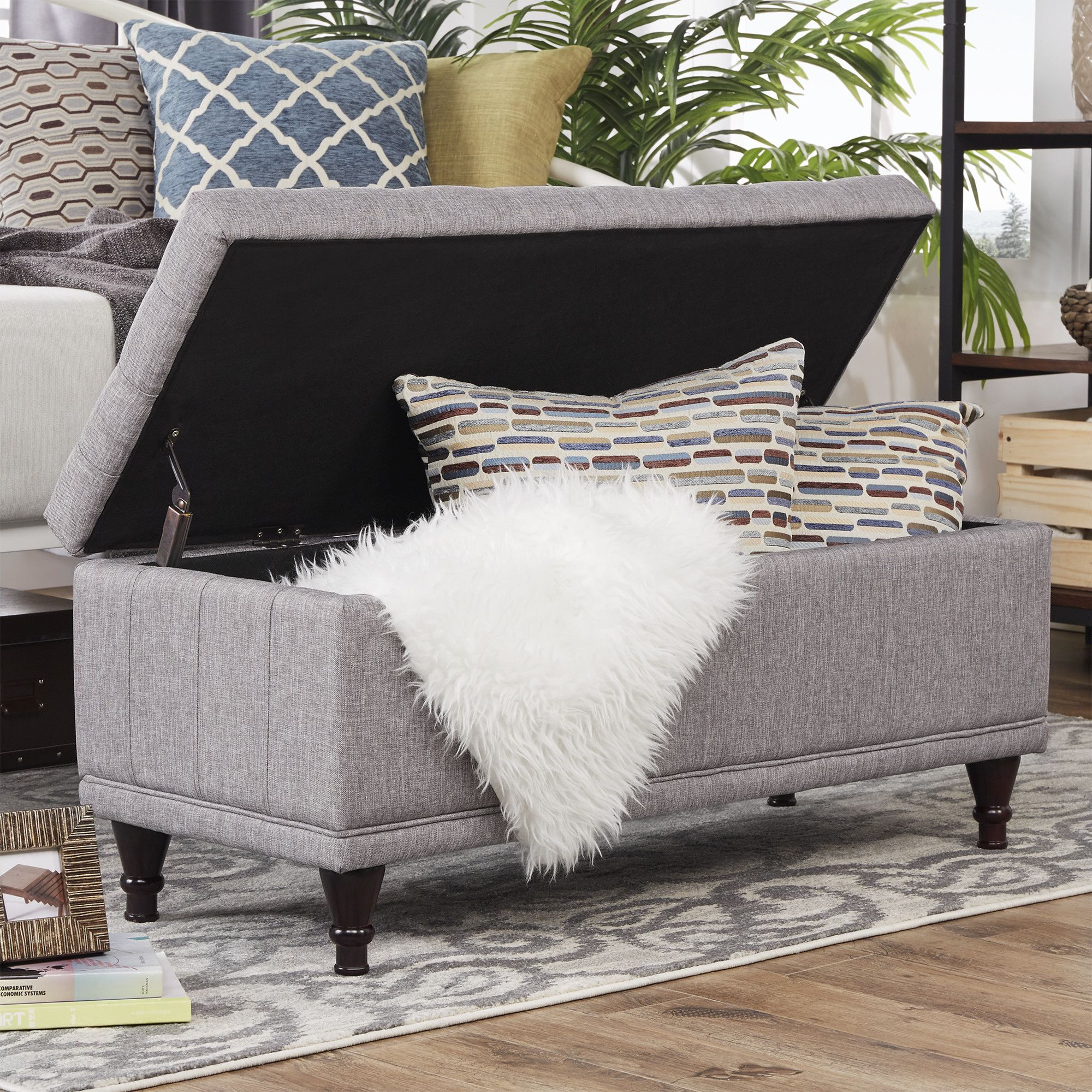 Features: -Asian wood frame. -Collection: Southampton. -Safety ...