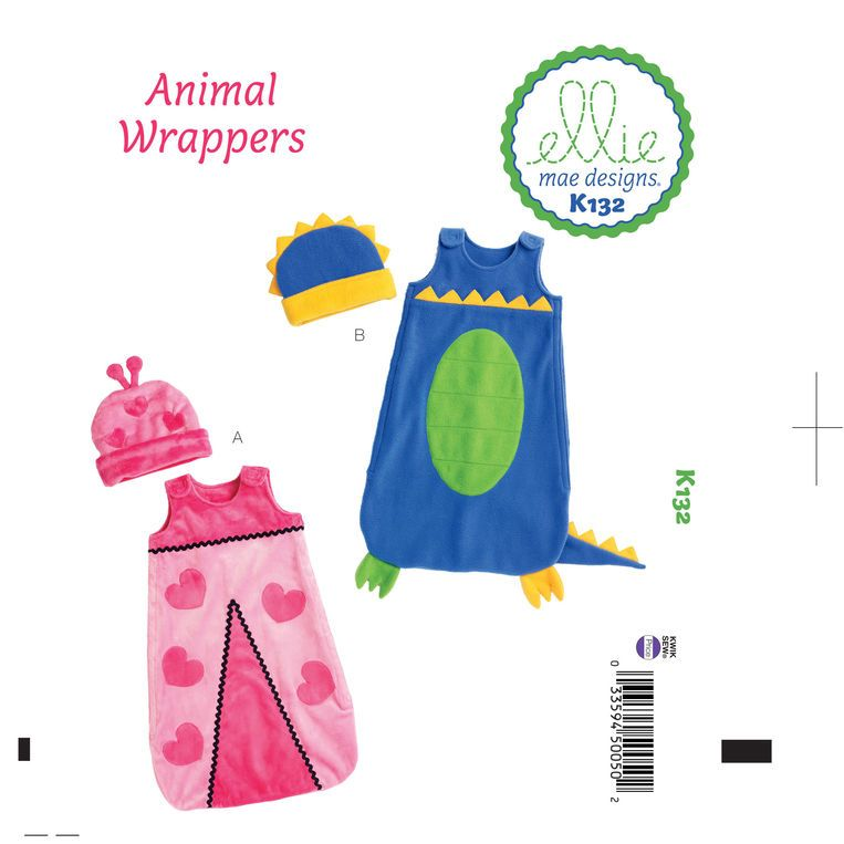 Kwik Sew Infants' Bunting and Hat Pattern