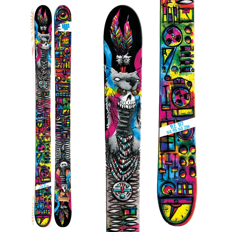 4frnt Yle Skis 2014 Skiing Pow Skateboard