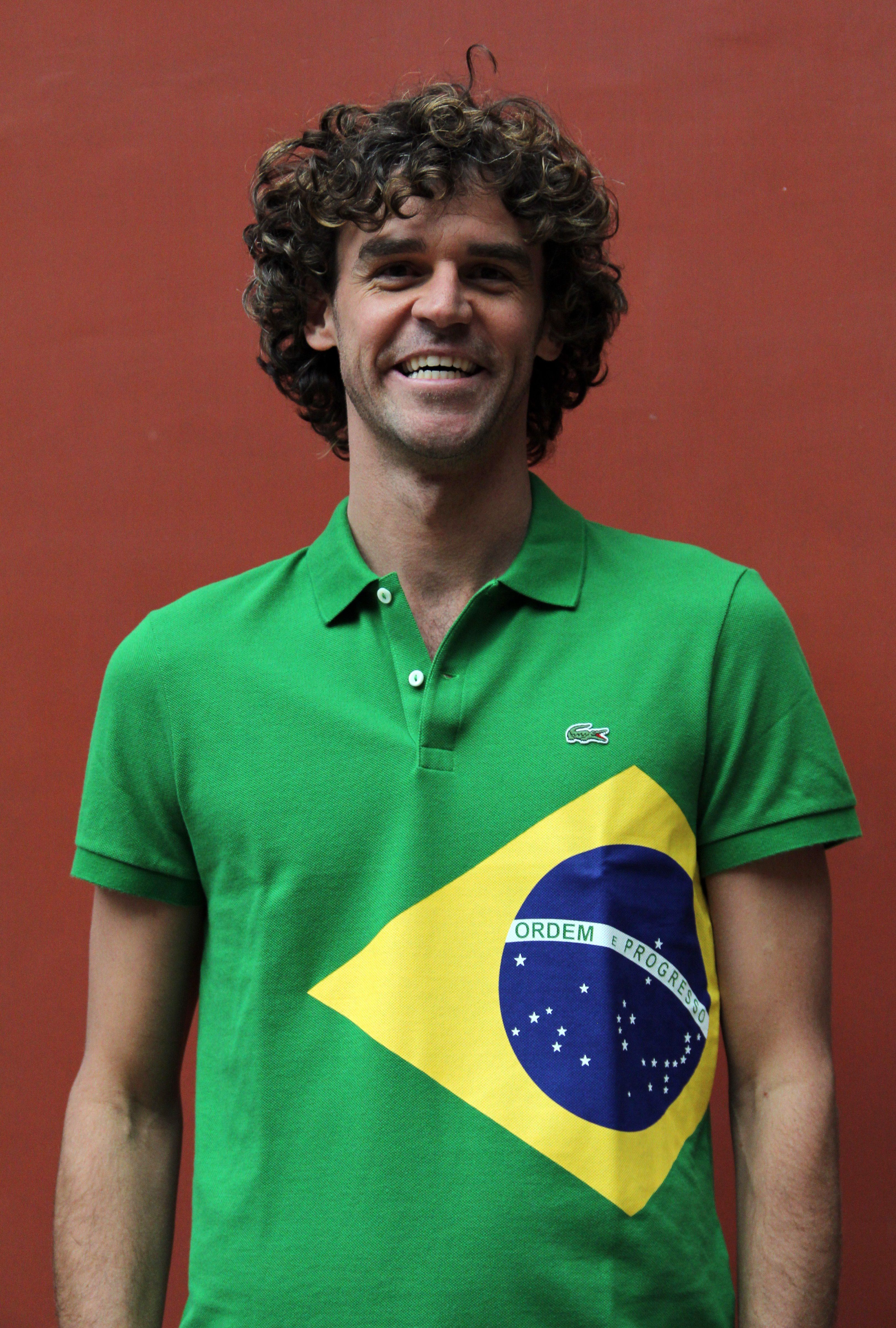 Behind the scenes with tennis legend Gustavo Kuerten and Lacoste