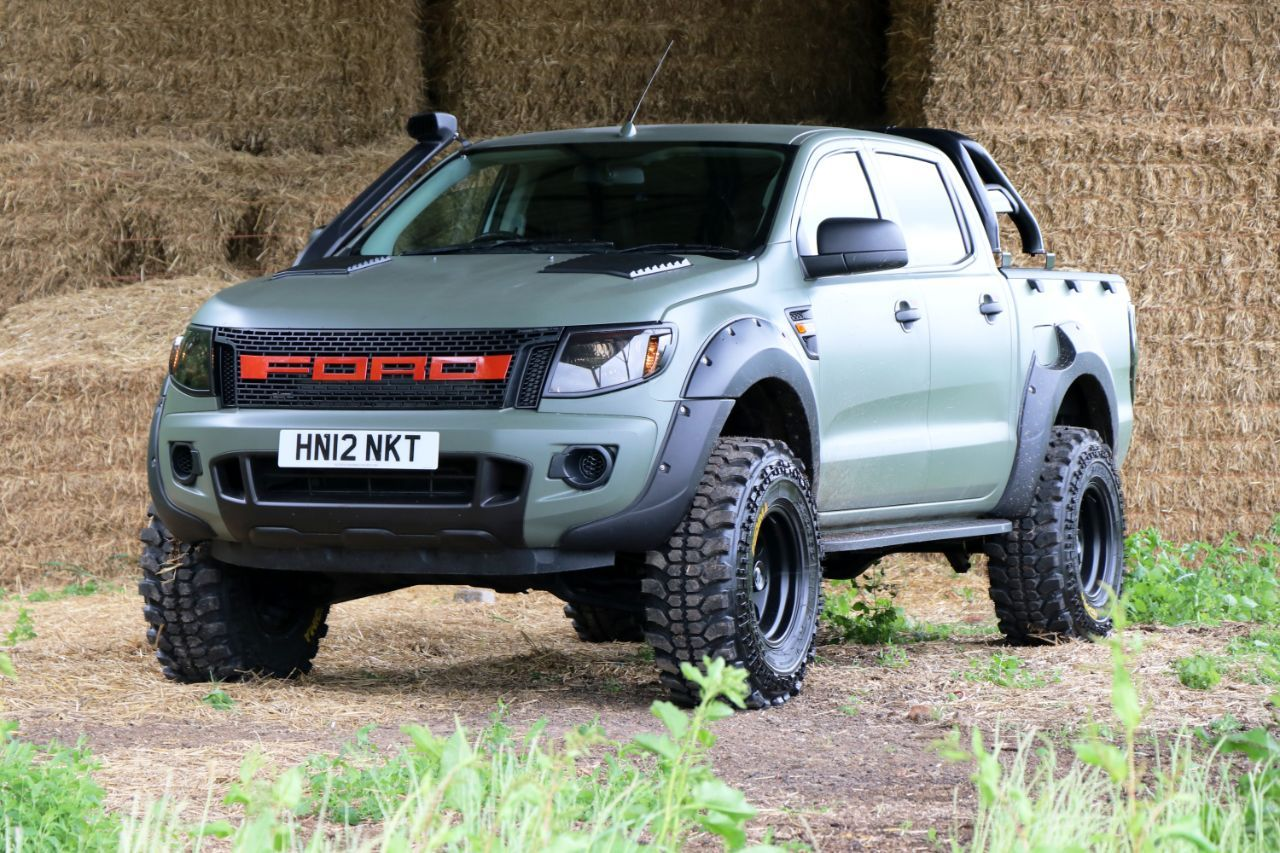 Ford Ranger 2 2 Seeker Raptor Camo Edition In Stock 3 In Build Now