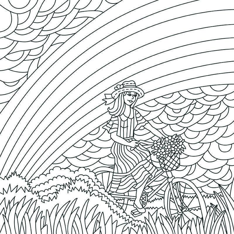 Desenho Paper Color 05 Arco-Íris - Iara Capraro | How cool is this ...