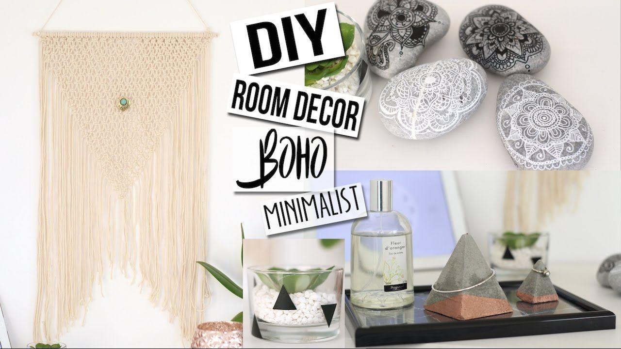 Diy Deco 4 Idees Boho Minimalist Chambre Salon Tumblr Pinterest Roo Pinterest Room Decor Diy Room Decor Summer Room Decor
