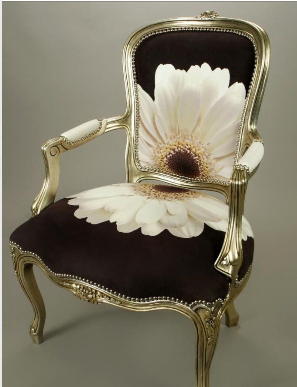Elegante blanco con negro sillones y sillas bellamente tapizados muebles sillas y muebles - Sillones antiguos restaurados ...