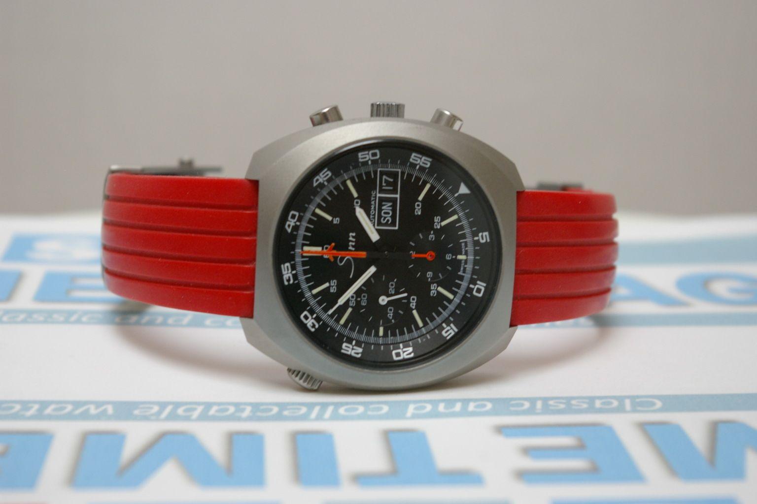 My vintage (1980's) Sinn 140 BM chronograph. Read all about it here: http://www.sometimeago.com/what-a-watch-sinn-140/