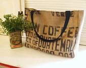 recycled and coffee themed! amazing!