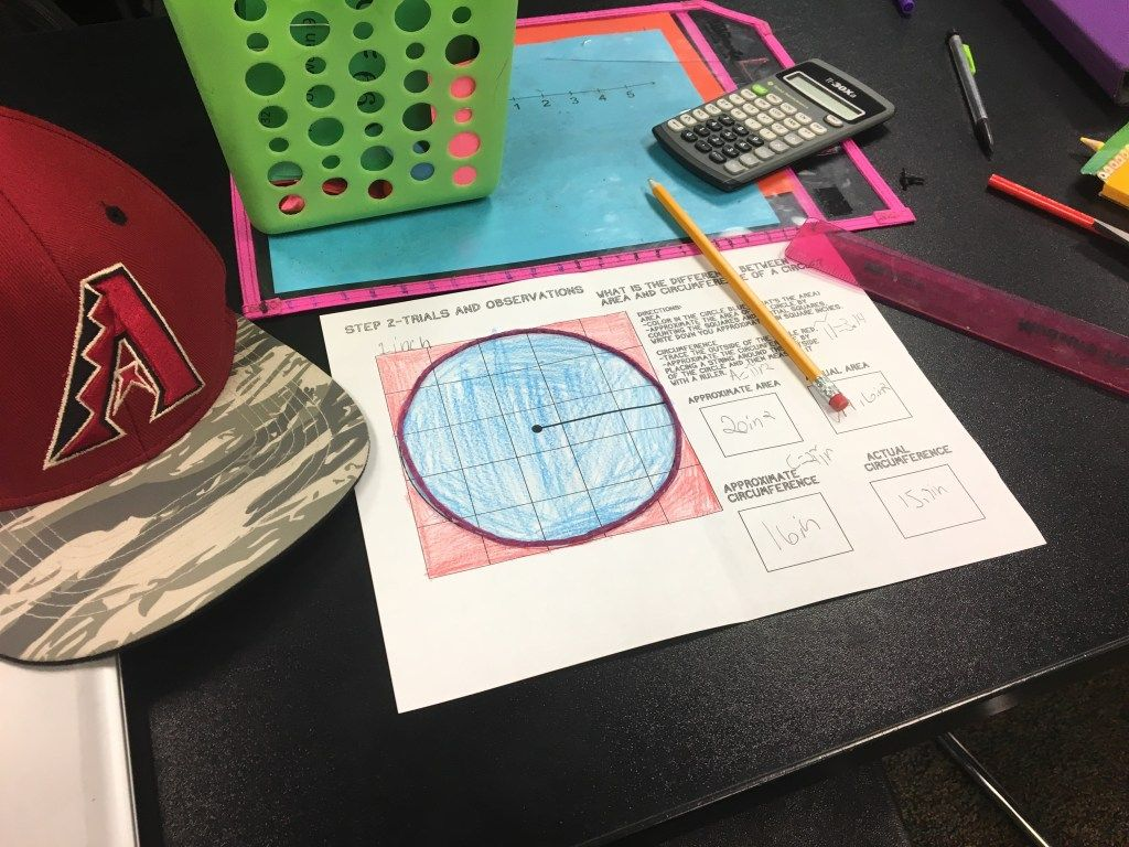10 Activities For Finding Area And Circumference Of A
