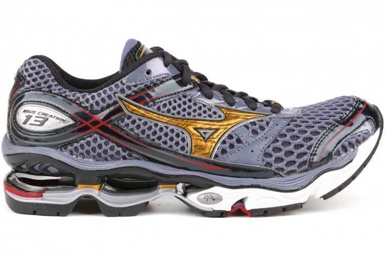 757f5488af MIZUNO Wave Creation 13 410454 9I3G Folkstone Grey-Spectre Yellow-Chinese  Red Description Dynamotion