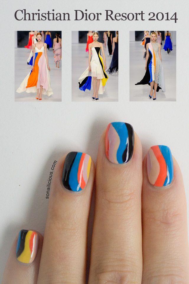 Christian Dior Nails Makeup Nails Dior Nails Nail Art