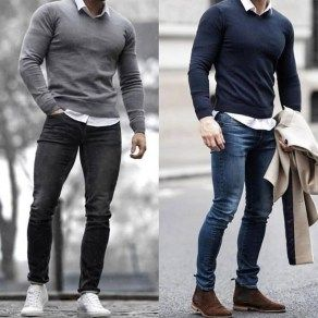 45 Moderne Business-Winter-Outfit-Ideen für Männer im Büro #mensfashion