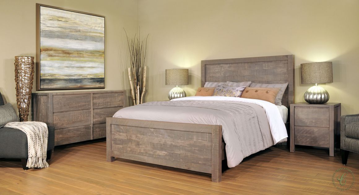 Naomi Rustic Grey Bedroom Set Sofa De La Sala Muebles Para Casa