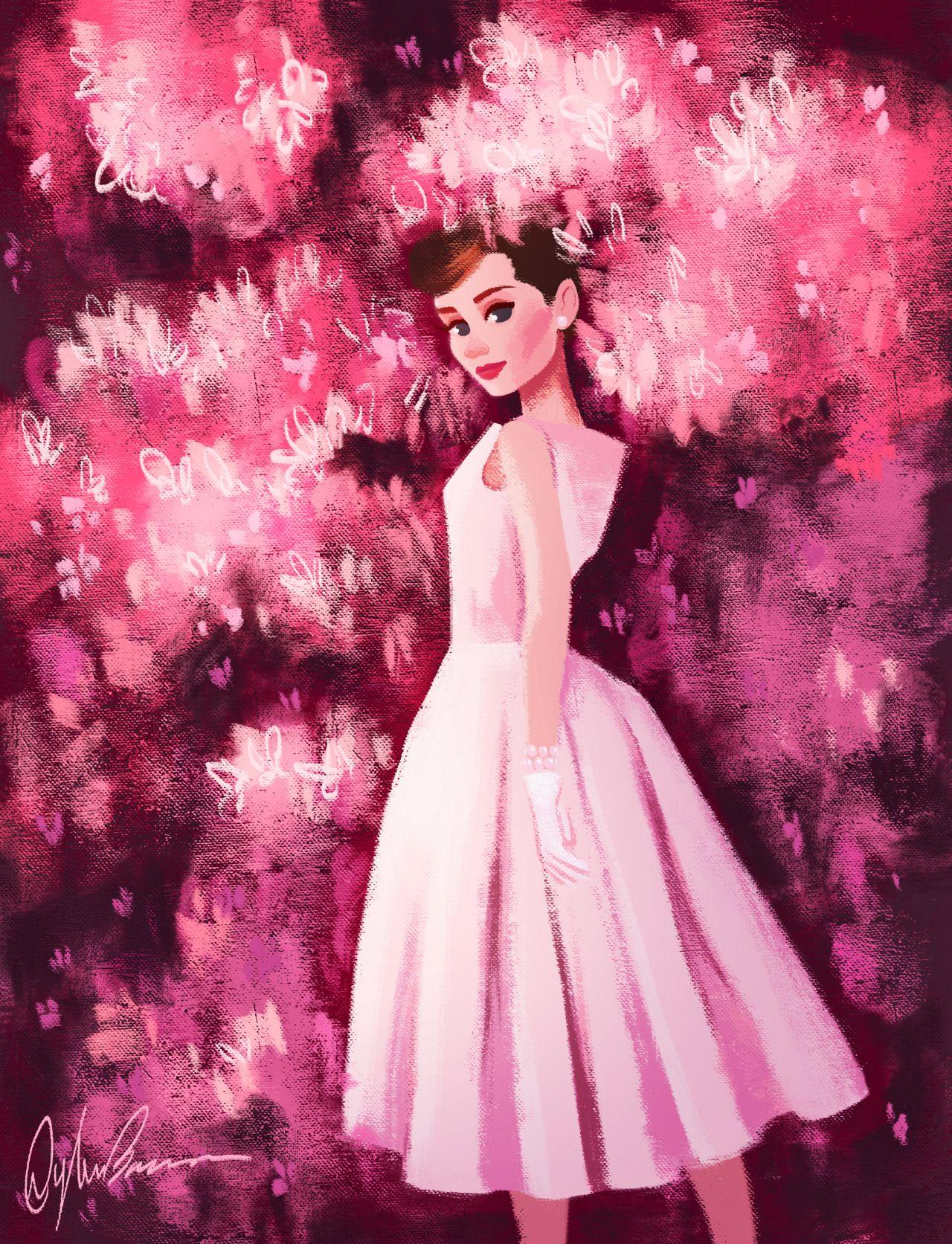 Happy birthday Audrey Hepburn! | Láminas para decoupage | Pinterest ...