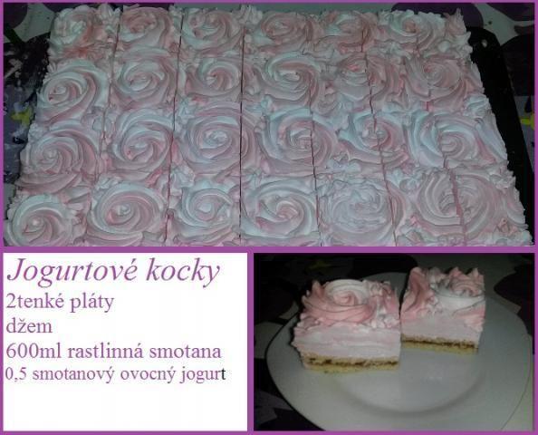 Jogurtová ruža , recepty, Zákusky   Tortyodmamy.sk